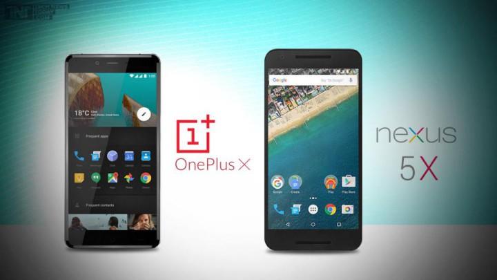 OnePlus X и Google Nexus 5X