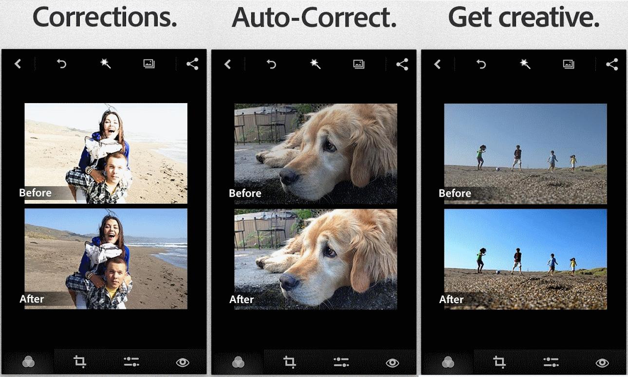 adobe photoshop express - фоторедактор для android