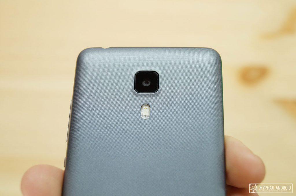 Leagoo Z1 - тыловая камера