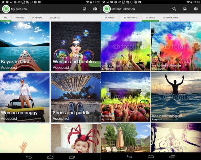 Приложения для заработка на Android - Fotolia-Instant-(2)