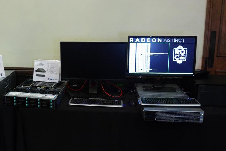 AMD представила долгожданные ЦП, а также Radeon Instinct