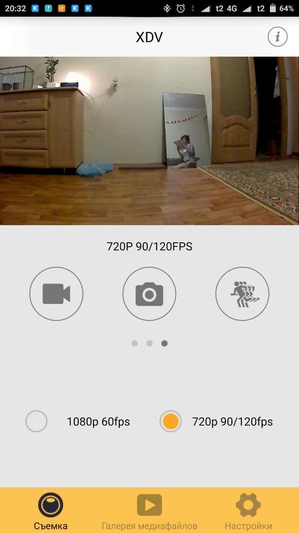Очень дешёвая экшен-камера V60S с поддержкой 4K и WiFi