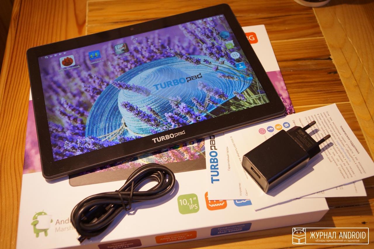 Бюджетный планшет TurboPad 1015
