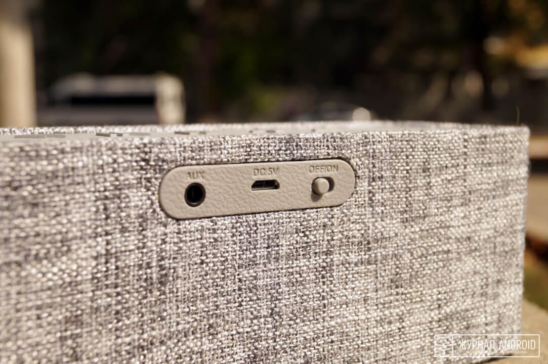 Creative Nuno: обзор стильной колонки с необычным покрытием