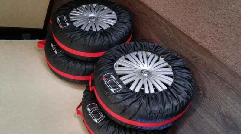 Многоразовые чехлы для хранения колёс