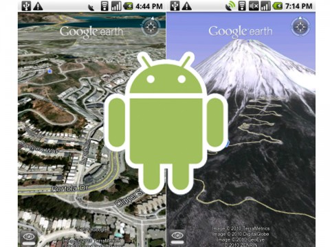 Google Eath для Android