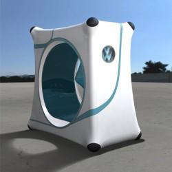 Slimo One Seater – концепция одноместного общественного транспорта для города