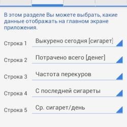 Cigarette Analytics - лучший счетчик сигарет для Android