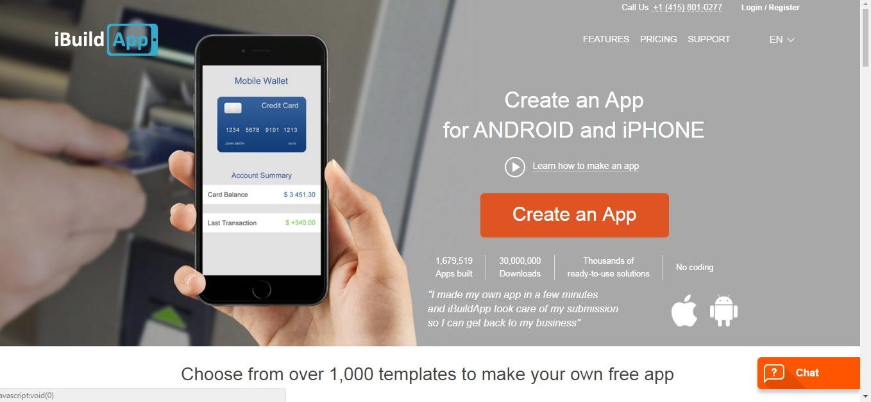 1c585104fc6 10 качественных конструкторов приложений для Android