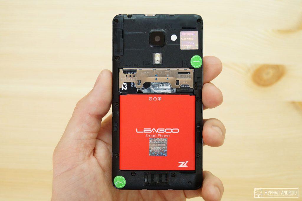 Leagoo Z1 - аккумулятор