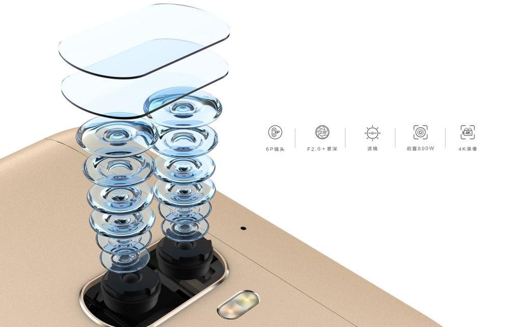 Китайский смартфон LeEco X10 получил 4 камеры и очень мощную начинку
