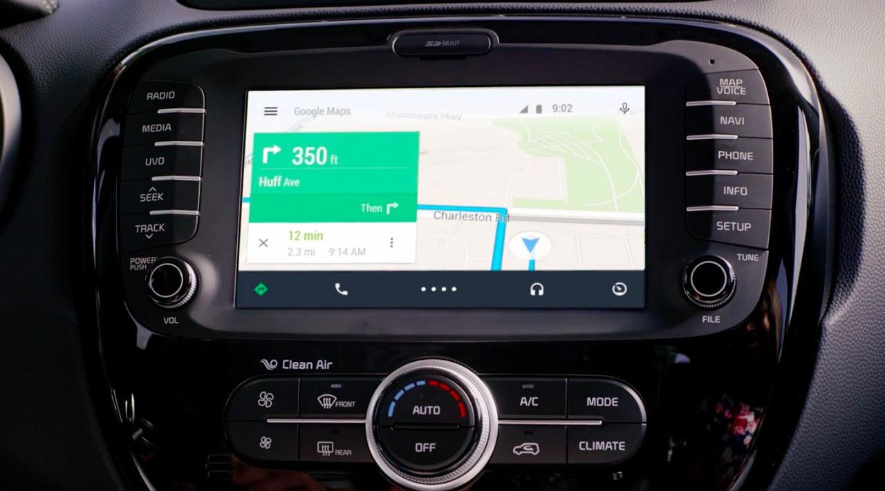 Системы Android Auto и Apple CarPlay на борту KIA