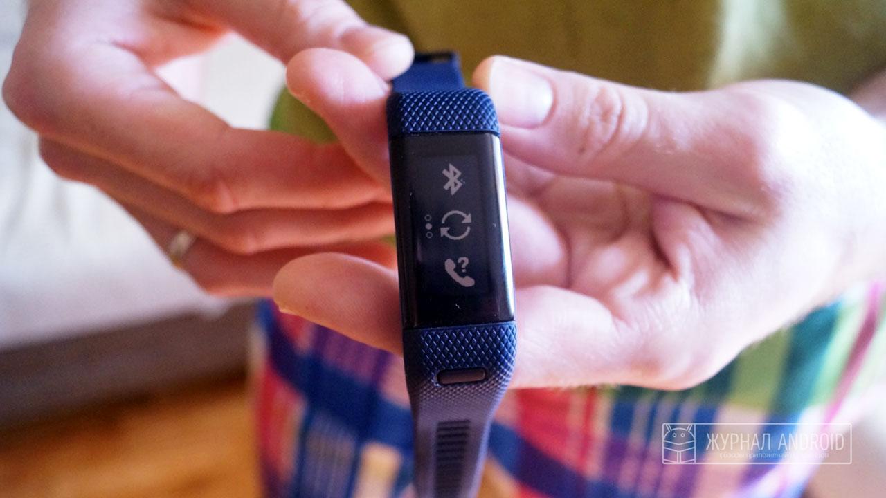Дорогой и функциональный фитнес-браслет Garmin Vivosmart HR+