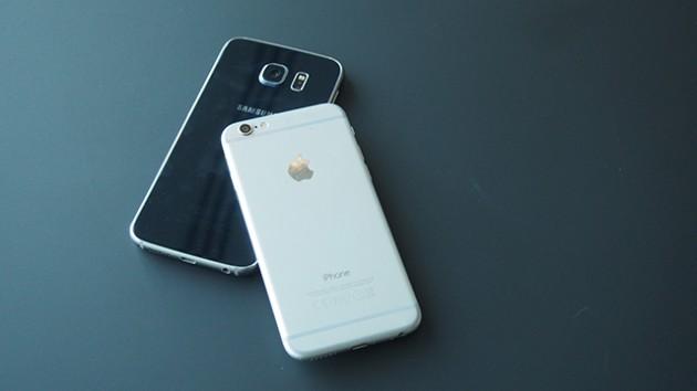 Cравнение Apple и Samsung, а также тех, кто отстал