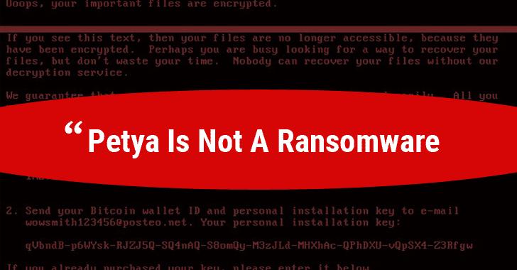 Атака вируса-шифровальщика Petya в Украине успешно отражена