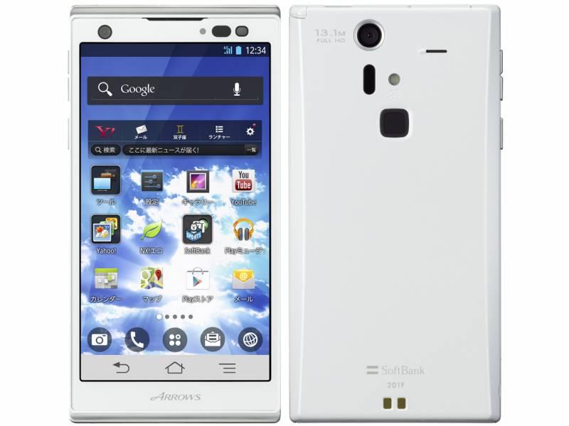 Смартфон для экстремалов Fujitsu Arrows M04