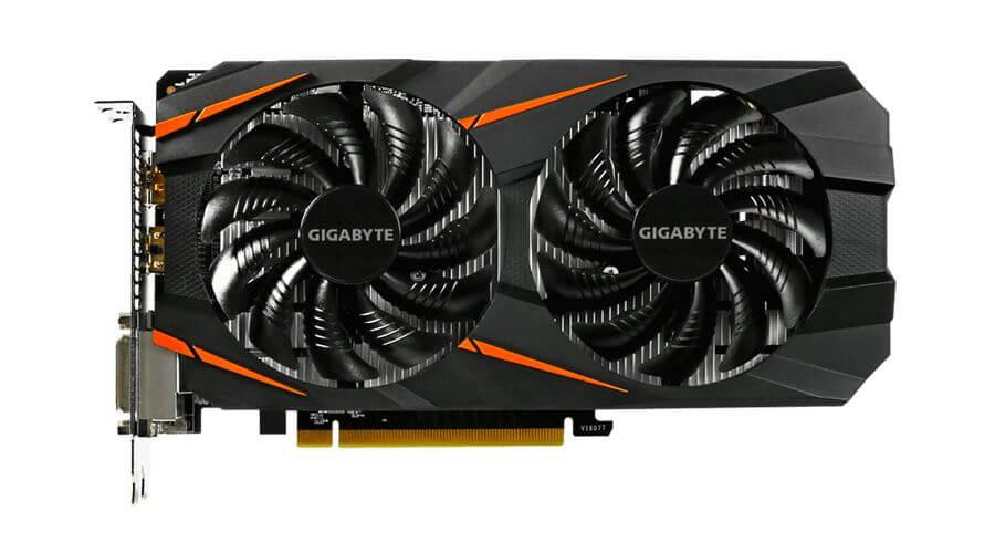 GIGABYTE GeForce GTX 1060 WINDFORCE 6G