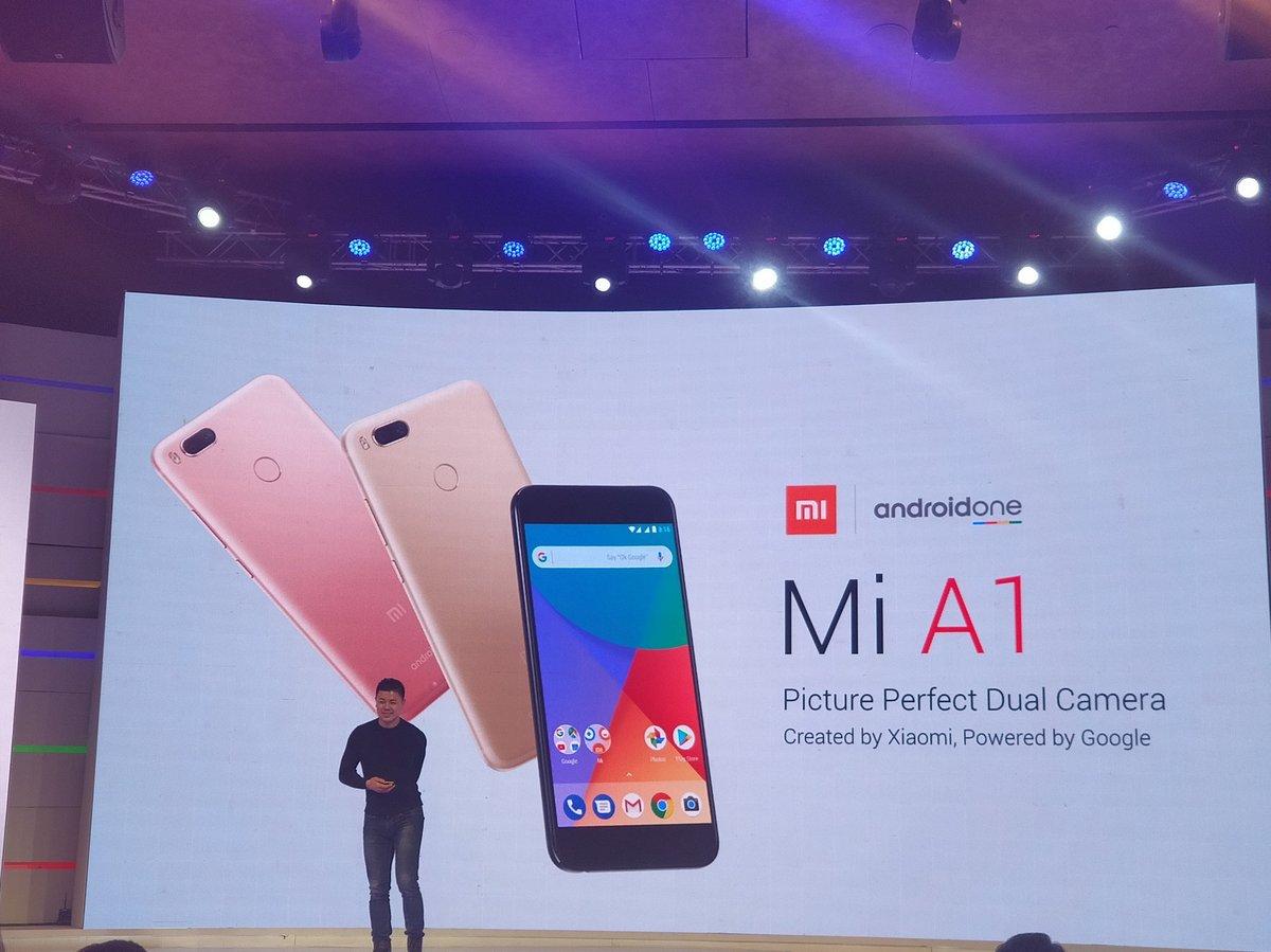 Дебютная демонстрация нового смартфона Mi A1 от Xiaomi