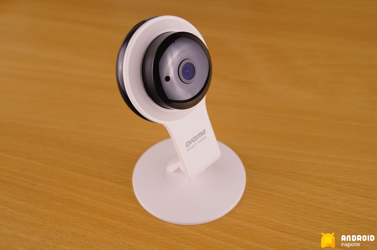 Digma Division 100 - доступная IP-камера для дома и офиса