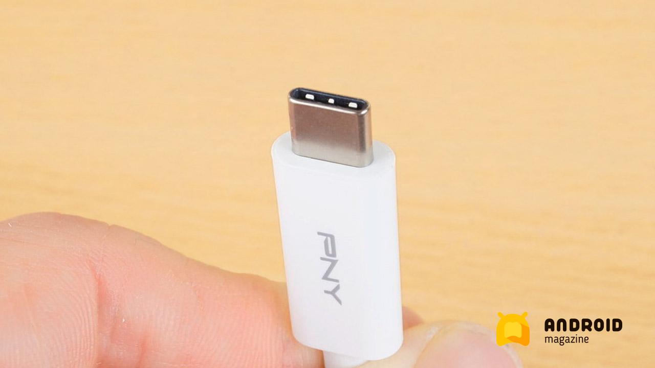 Выводим изображение с телефона на ТВ при помощи адаптера PNY USB-C 3 в 1