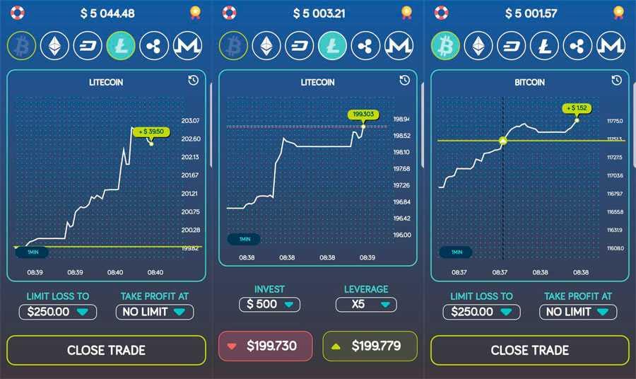 Bitcoin Flip — игра симулятор