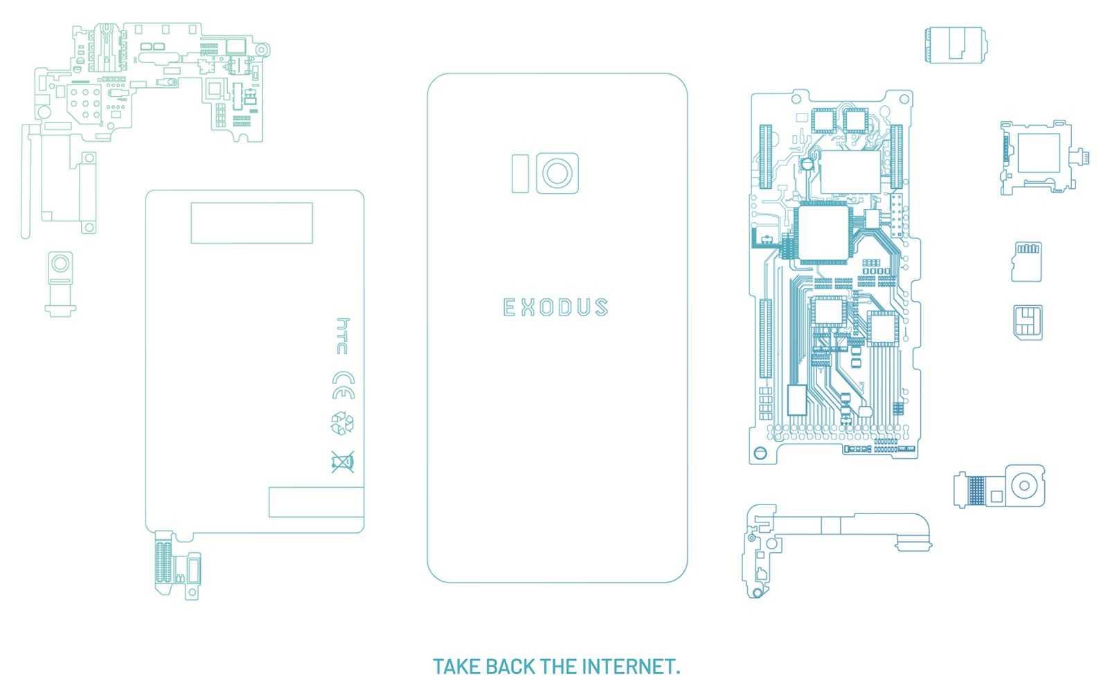 Новинка: смартфон для криптодержателей HTC Exodus