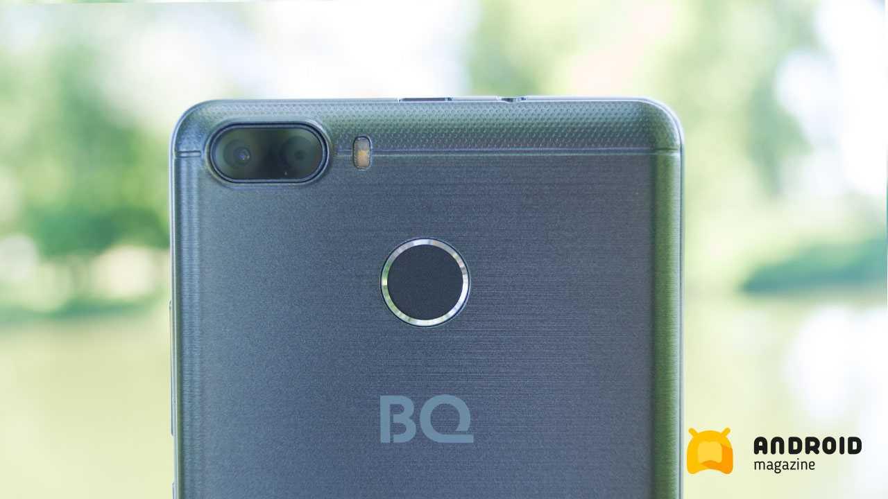 Бюджетный смартфон BQ Intense с двойной камерой и мощным аккумулятором