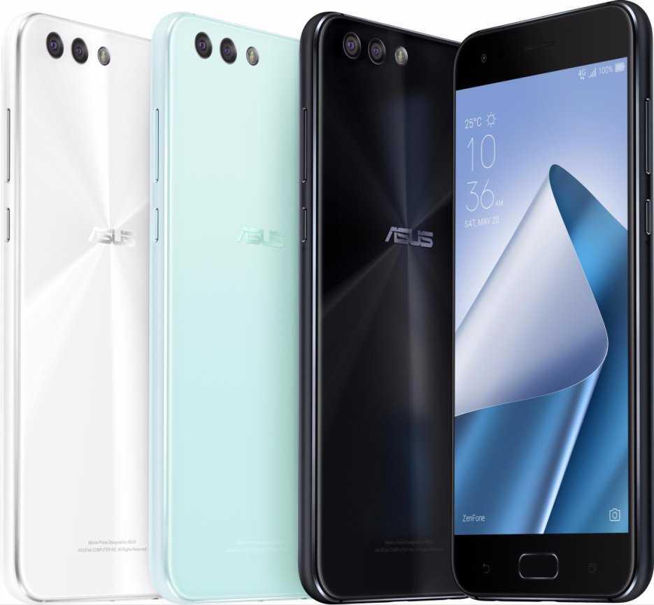 Asus ZenFon 4 Max - смартфоны с двойной камерой