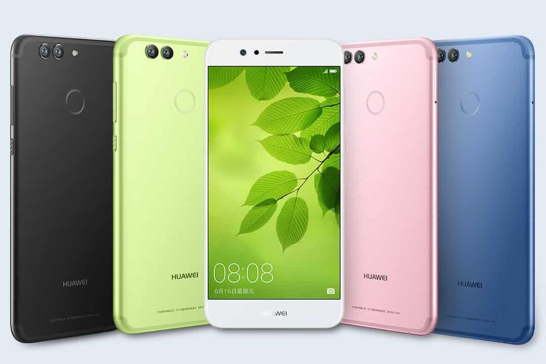 Huawei Nova 2 - смартфоны с двойной камерой
