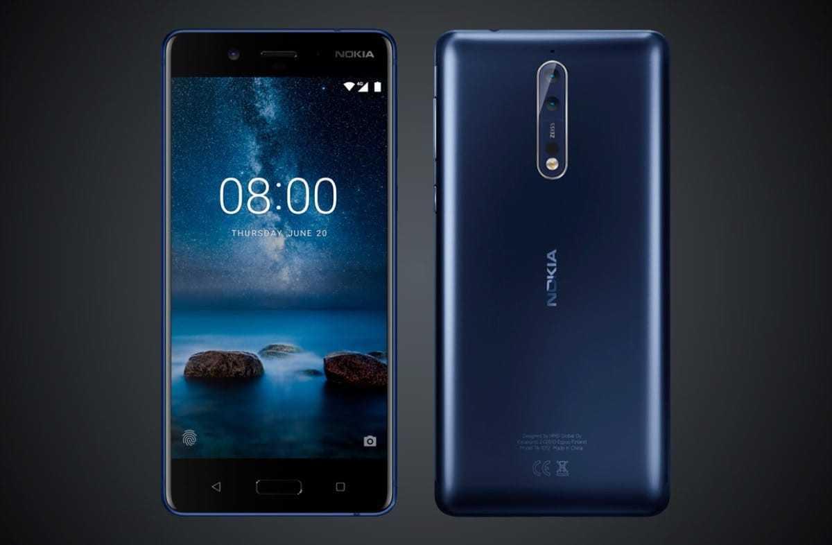 Nokia 8 - смартфоны с двойной камерой