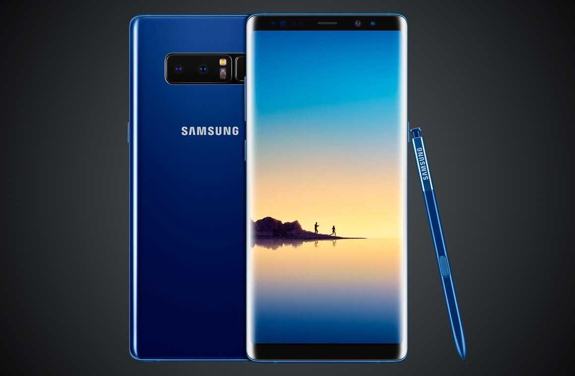 Samsung Galaxy Note 8 - смартфоны с двойной камерой