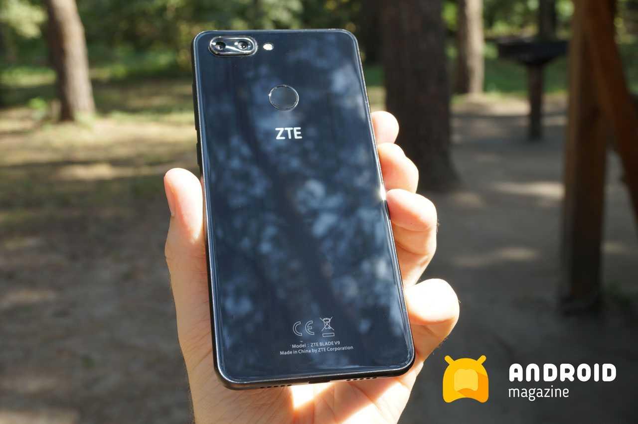 Вещь! Уверенный среднячёк ZTE Blade V9 с функцией Face Recognition и FHD+ дисплеем
