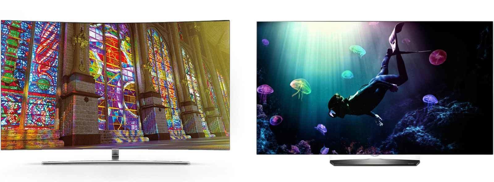 Сравнение: LCD и OLED