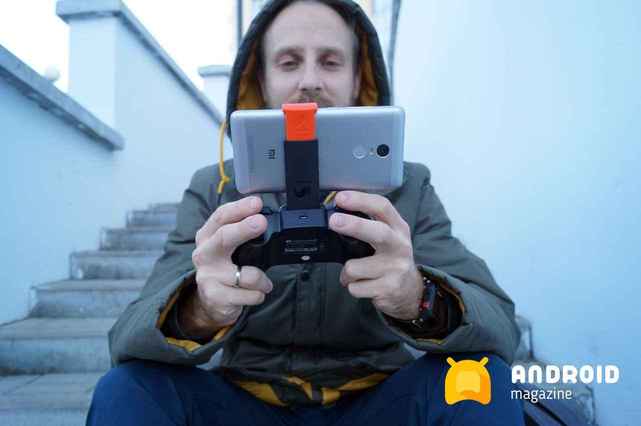 Заказал потрясающий геймпад Newgame N1 Pro для ПК, Android и iOs