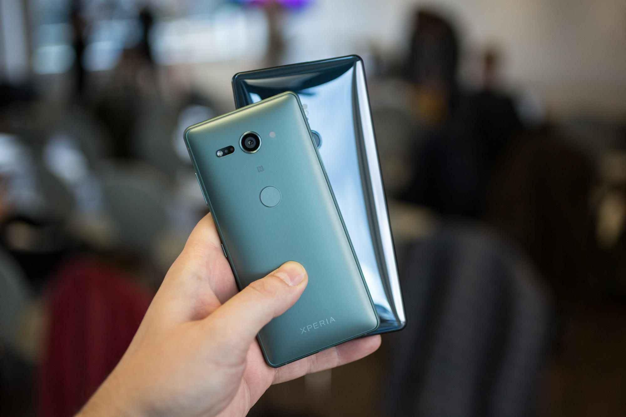 Sony Xperia XZ2 - смартфон на процессоре Snapdragon
