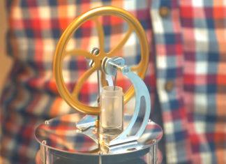 Мини двигатель Стирлинга