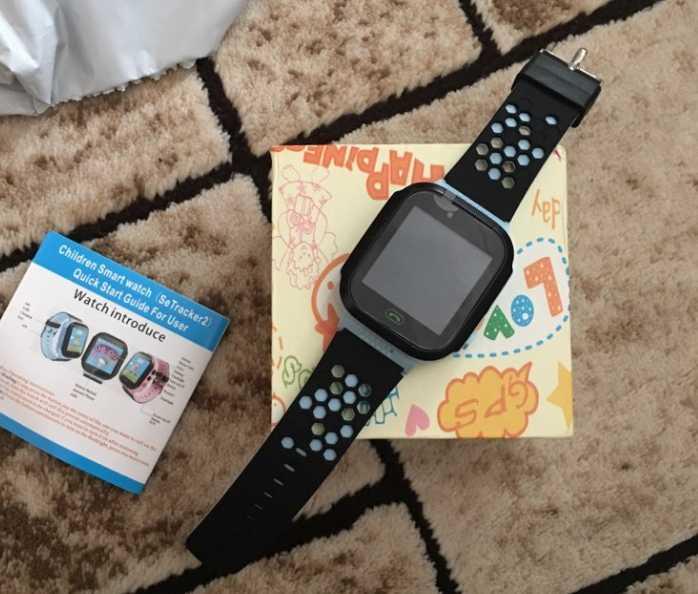 Детские смарт часы с функцией GPS