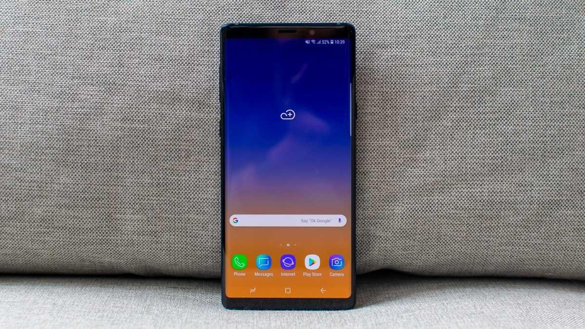 Samsung Galaxy Note 9 - лучший смартфон 2019 года