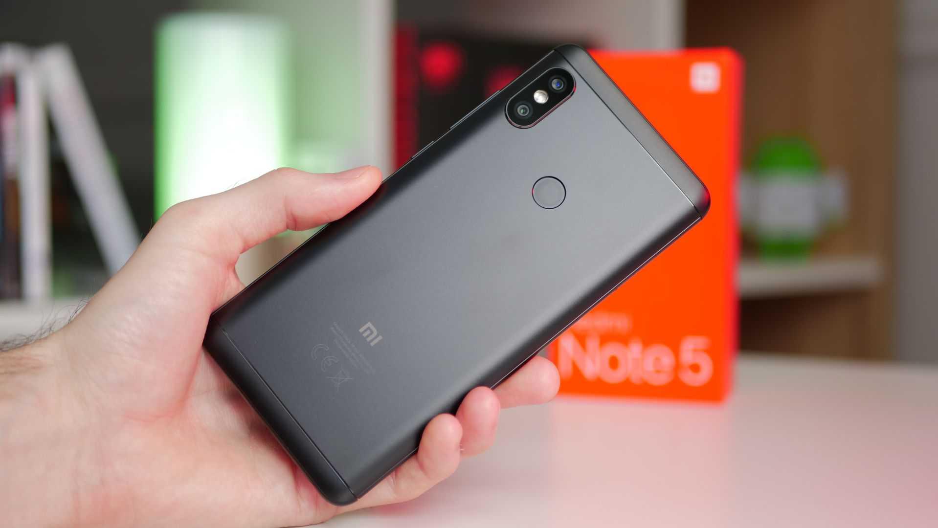 Xiaomi Redmi Note 5 - лучший смартфон 2019 года
