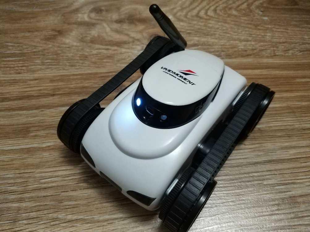 Робот танк-шпион