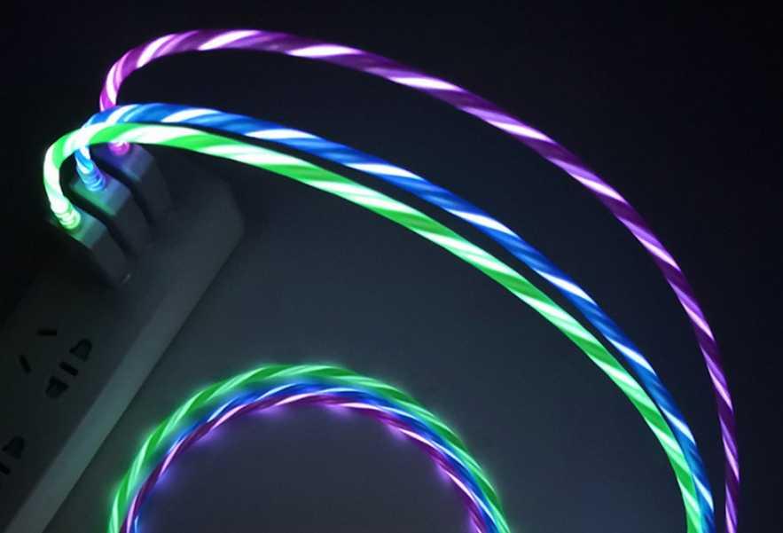 Светящийся USB-кабель