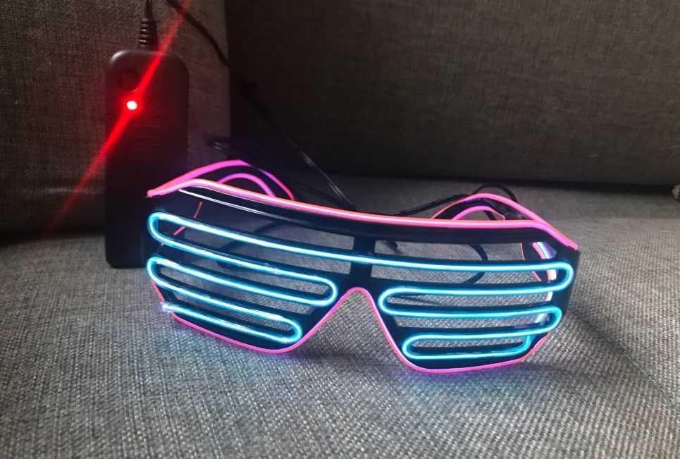 Неоновые очки