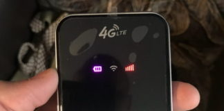 Портативный 4G маршрутизатор