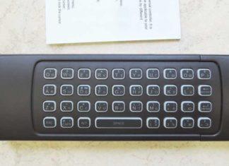 Пульт с клавиатурой