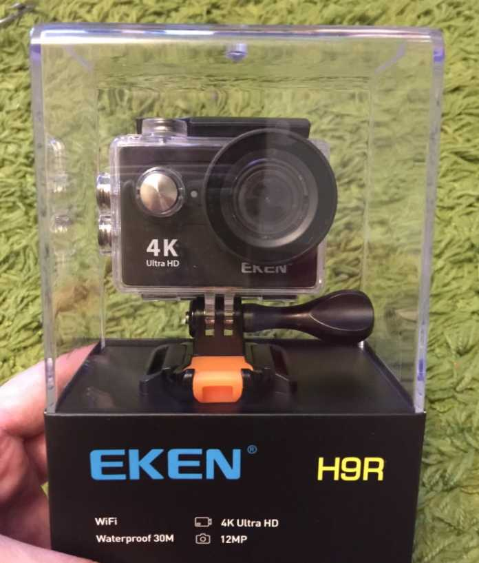 Бюджетная экшен-камера Eken