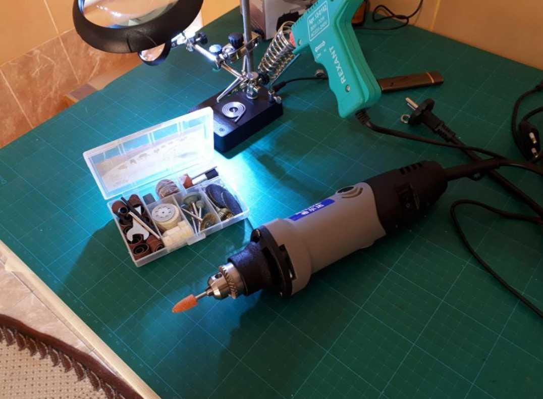 Машинка для гравировки, шлифовки и сверления HILDA