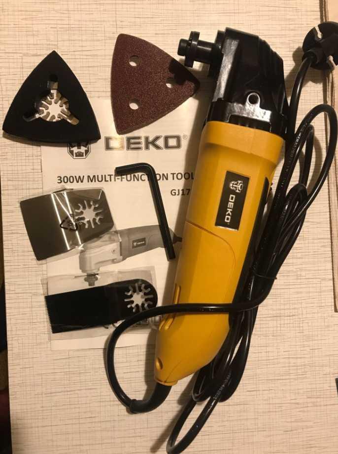 Осциллирующий инструмент DEKO GJ177