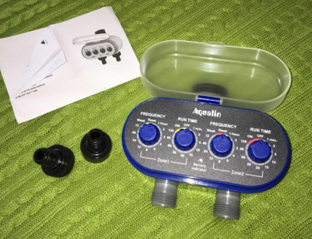Клапан автоматического полива Aqualin