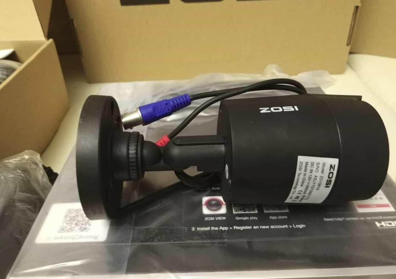Камера видеонаблюдения ZOSI