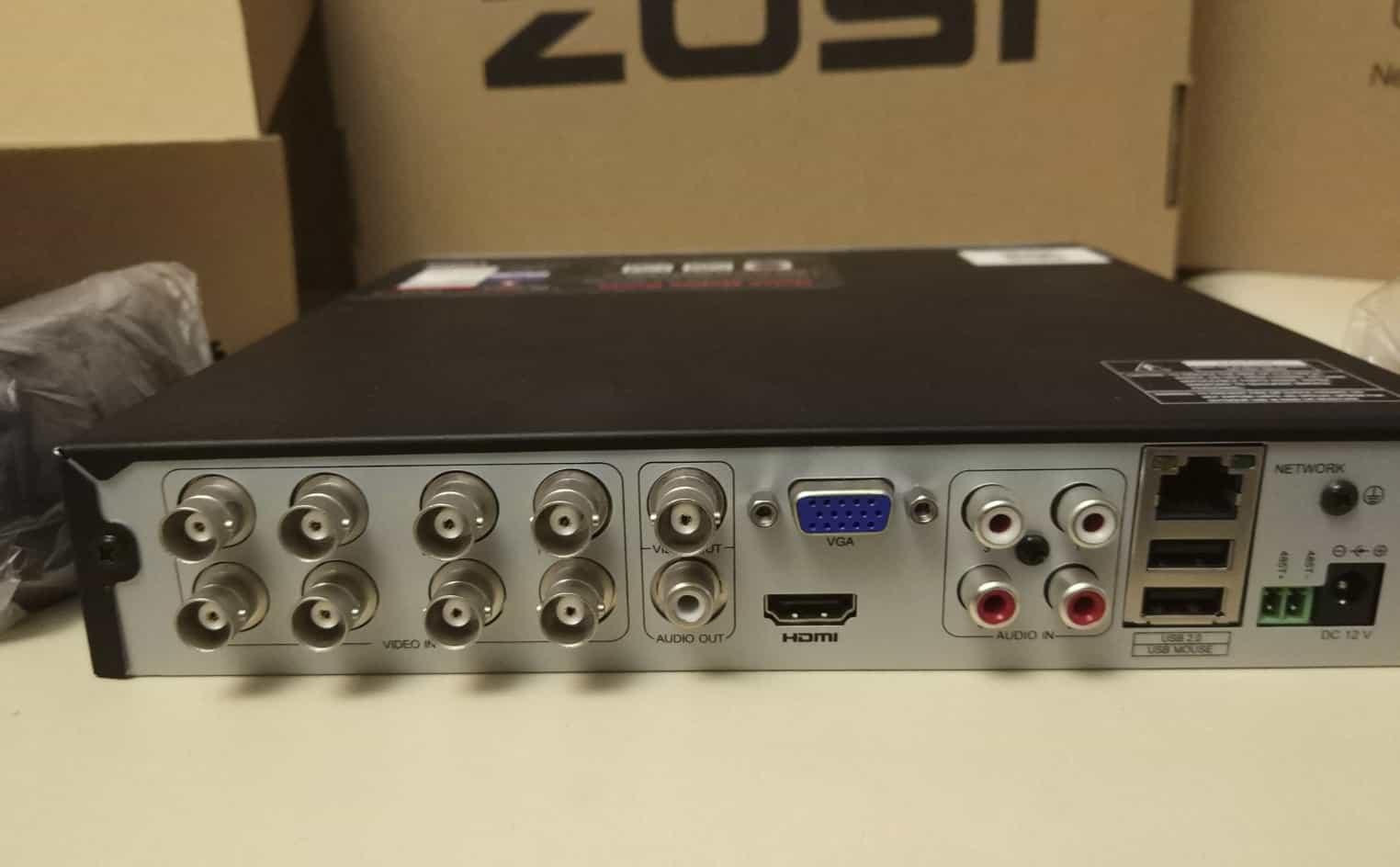 Комплект видеонаблюдения ZOSI